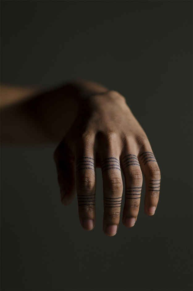 Wrapped Around Fingers | 33 Perfect Places For A Tattoo