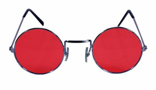2c20432651e5a John Lennon Round Red Hippie Sunglasses | Clothing | Sunglasses ...