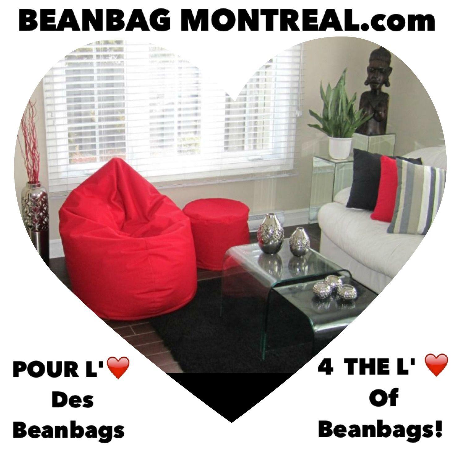 Info 1 888 527 0777 4609 Rue Iberville Montreal Qc J Beanbagmontreal Com Pouf Poire Pouf Montreal