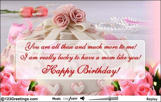 mama you mean da world to me wish u a very happy birthday – 123 Greetings Birthday Cards for Father