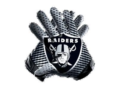 Nike Vapor Jet 2.0 (NFL Raiders) Men's Football Gloves