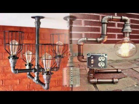 DIY Water Valve Light Switch Industrial Steampunk Copper