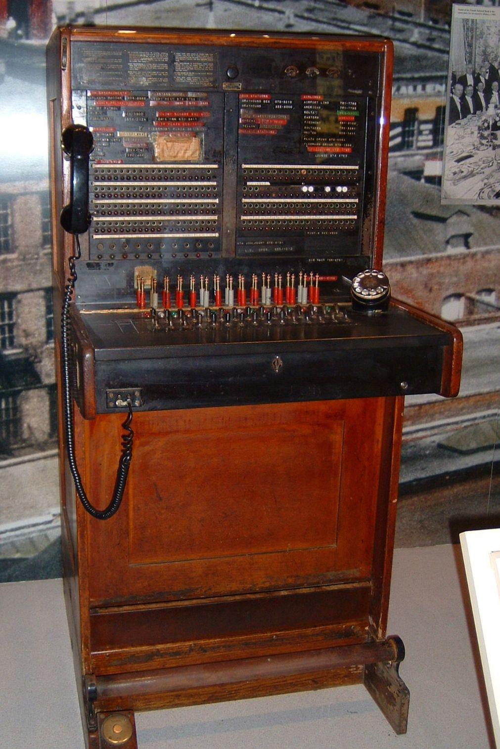 centralita telefonica 1924 Telephone exchange, Vintage