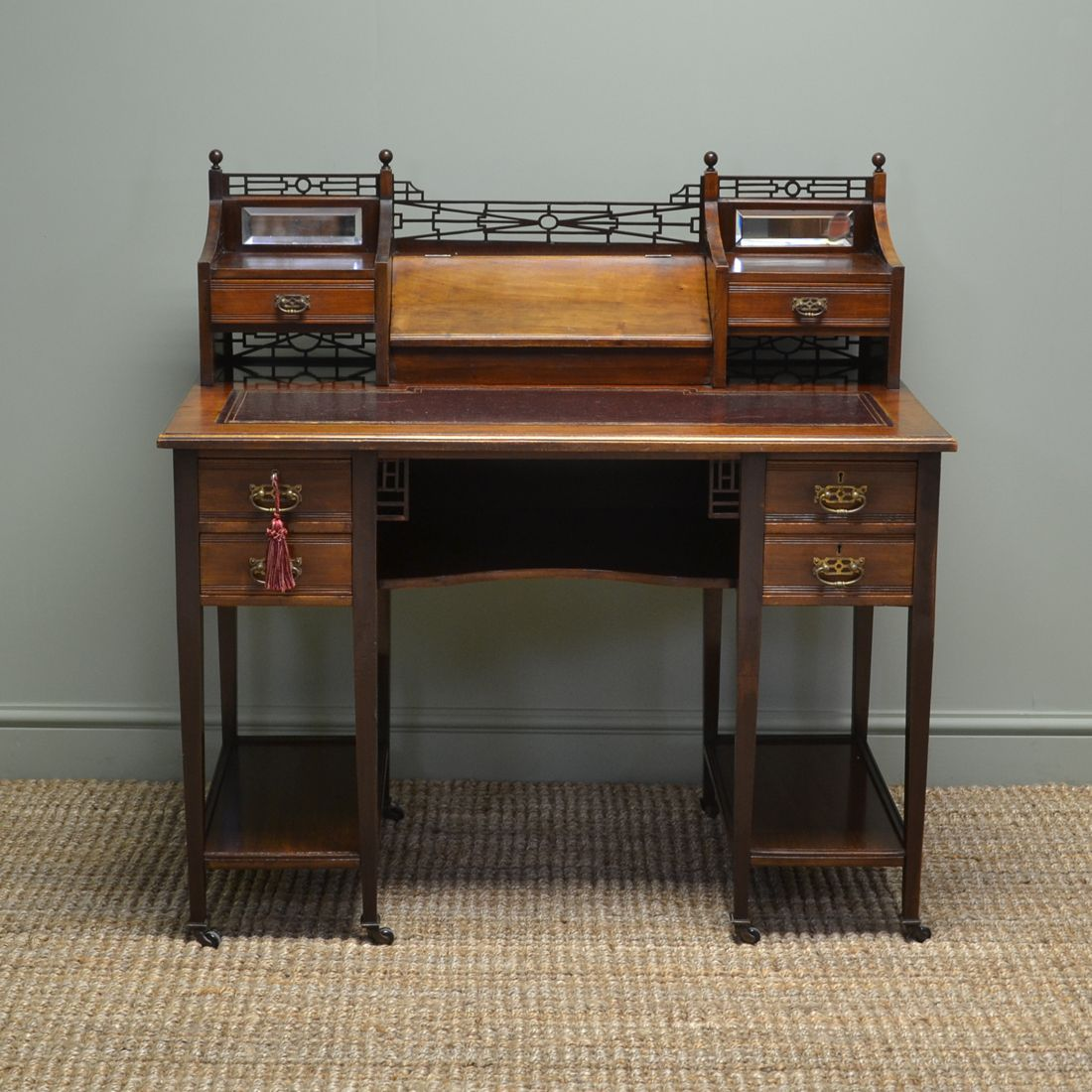 writing antique victorian top computer desk painted sale value peerless small oak for roll most ingenuity blinds