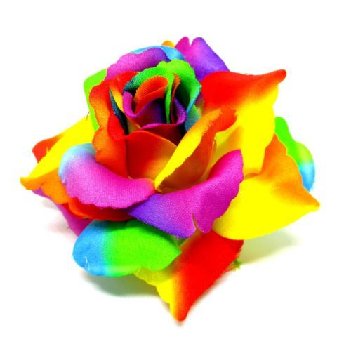 2x rainbow roses artificial silk flower heads bulk 375 for 2x rainbow roses artificial silk flower heads bulk 375 for wedding hair clip view more on the link httpzeppyproductgb2252723192625 mightylinksfo