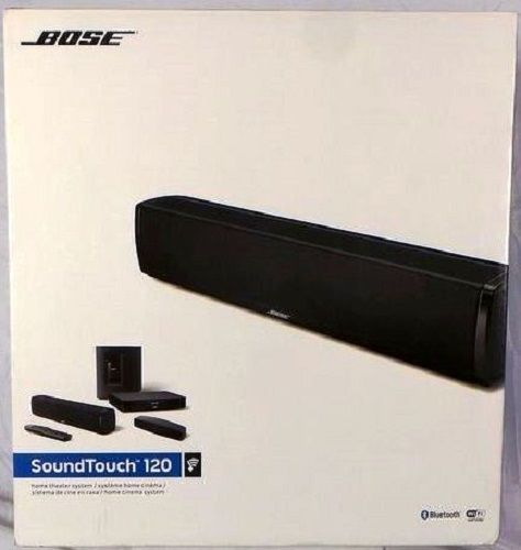 Home Theater Systems: Bose Soundtouch 120 Home Theater System BUY IT NOW ONLY: $749.0