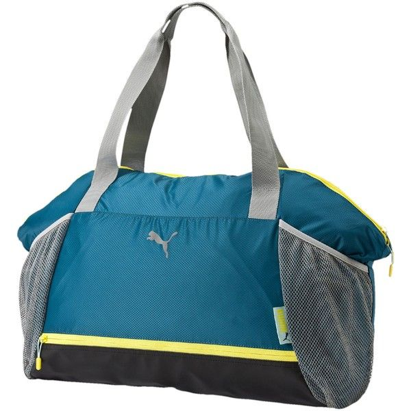 Puma Fit AT Workout Bag ($55) ❤ liked on Polyvore featuring mens and men's bags