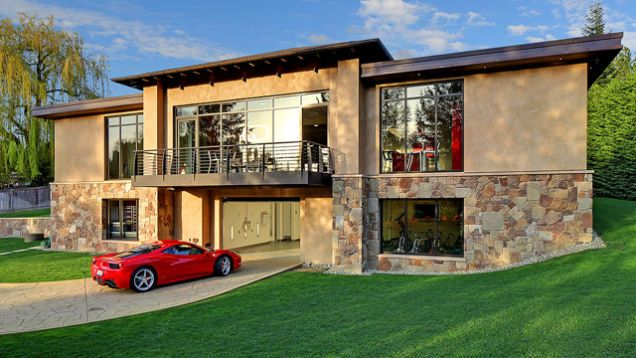 This $4 Million Garage Comes With A Very Nice House | Nice houses ...
