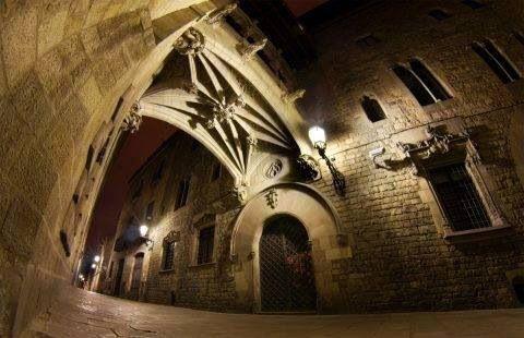 Barrio Gotico Barcelona 4:00 am