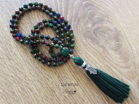 108 Mala beadsPrayer beads necklaceYoga di Laboratorio7Bijoux
