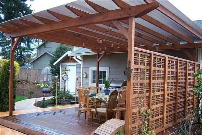 Pergola Roof Fiberglass Landscaping And Outdoor Building