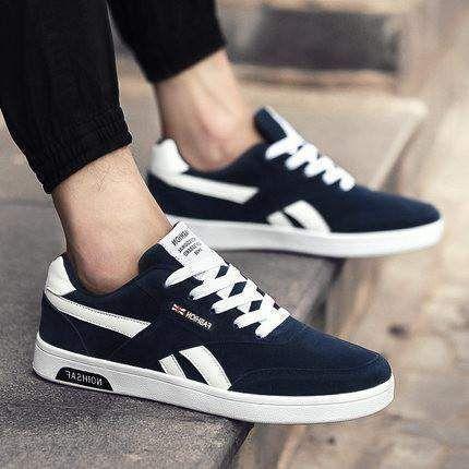 men sports shoes trendy casual shoes blue item type men