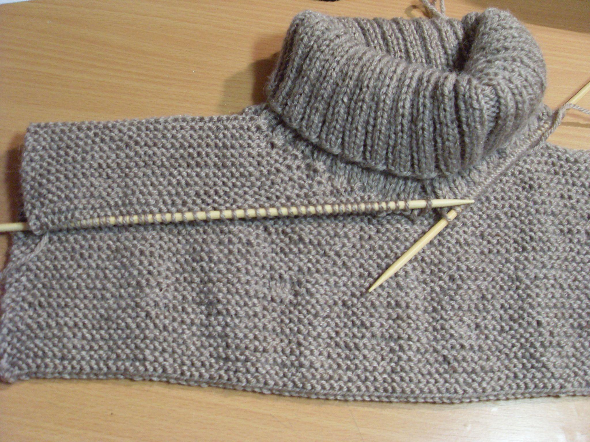 Connu TUTO Méga COL tricoté : un snood géant !!! Stéphanie bricole  SL07