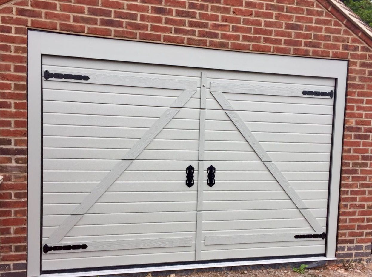 glass garage raised door colonial haas doors with insulated installed steel in model pin white panel