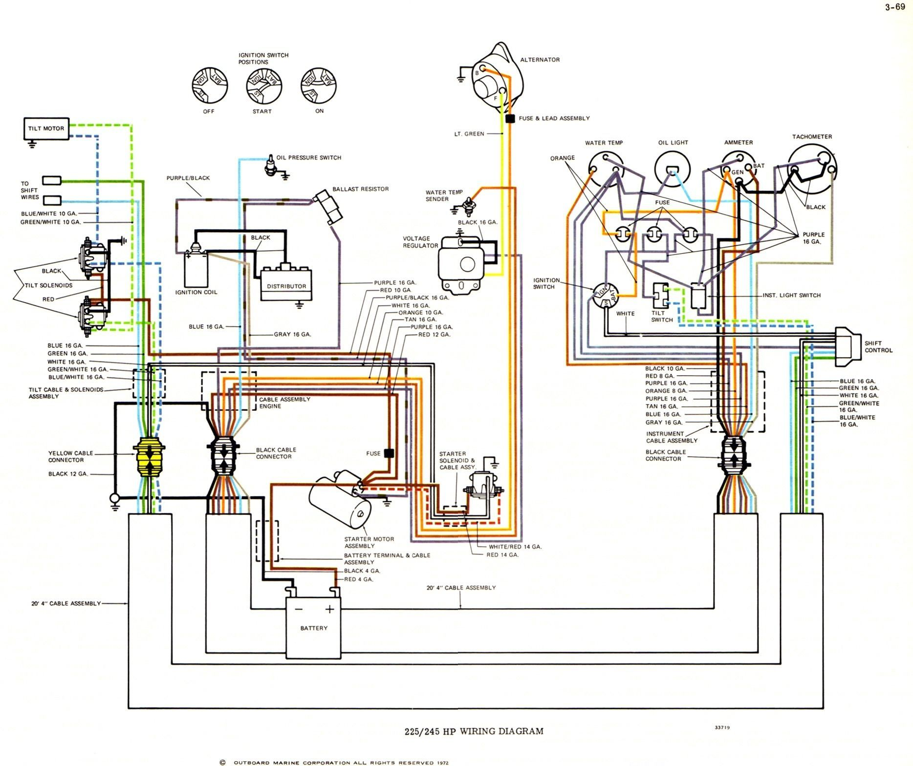Yamaha 150 Outboard Wiring Diagram Boat Wiring Electrical Wiring Diagram Electrical Wiring
