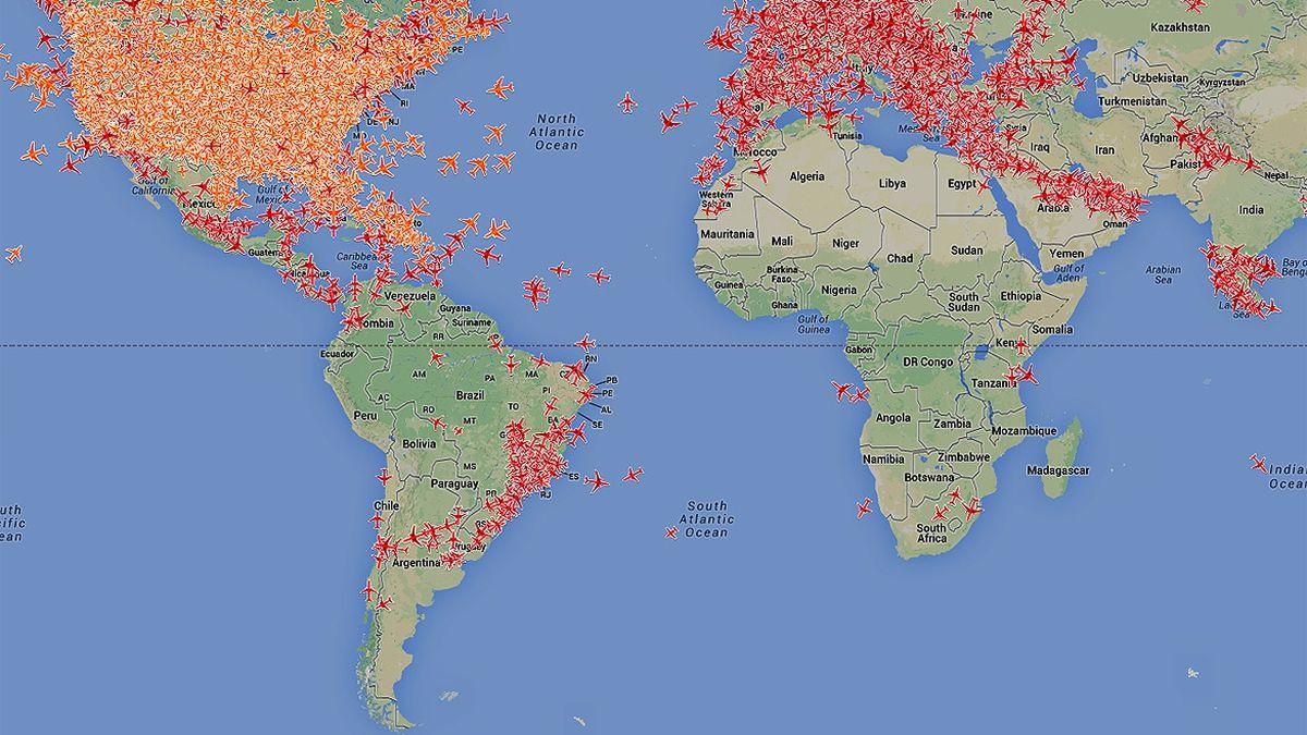 Sitios Que Brindan Información De Vuelos En Tiempo Real Sitios Vuelos