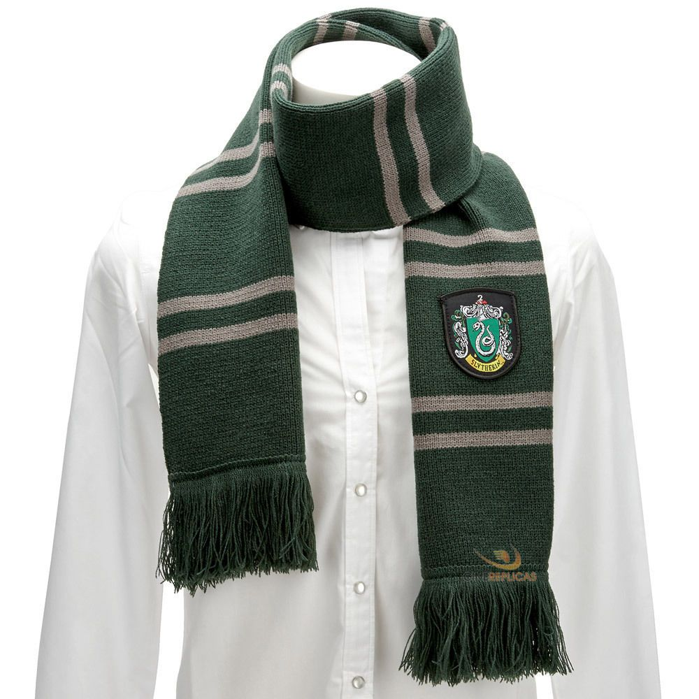 Harry Potter Schal Slytherin 190 Cm Harry Potter Häuser Slytherin Gryffindor