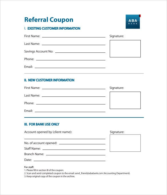 Referral Coupon Templates 17 Free Psd Ai Vector Pdf With Unique Referral Card Template Card Templates Free Coupon Template Card Template