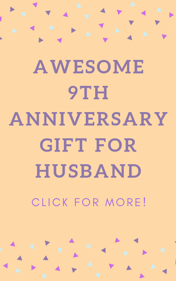 9th Anniversary Gifts For Men 9th Anniversary Gift For Him 9