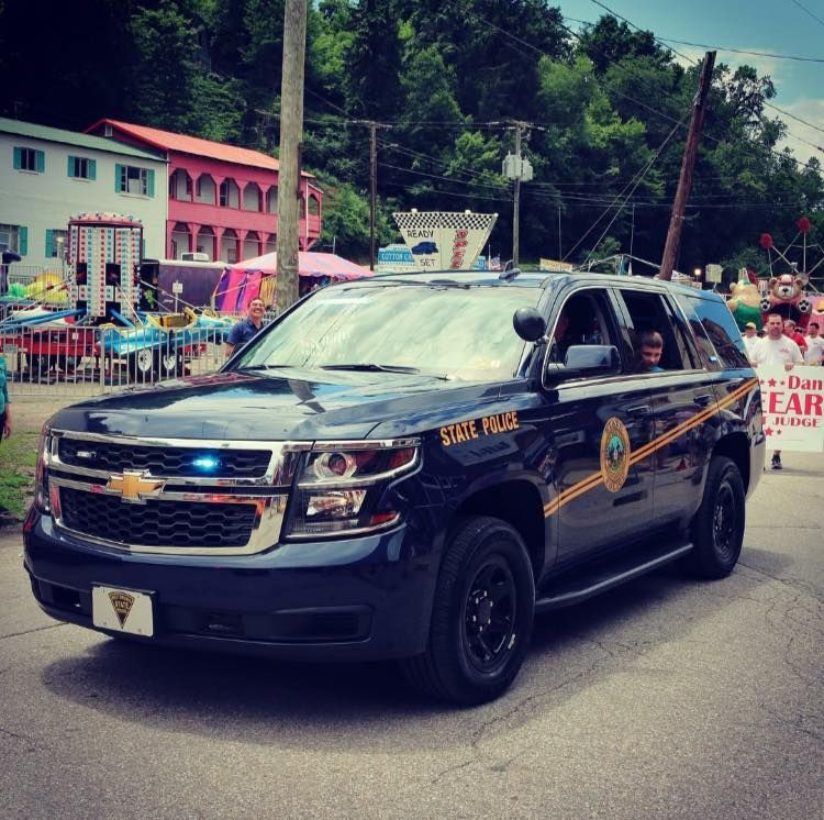 West Virginia West Virginia State Police Chevy Tahoe Police Cars State Police Ny State Trooper