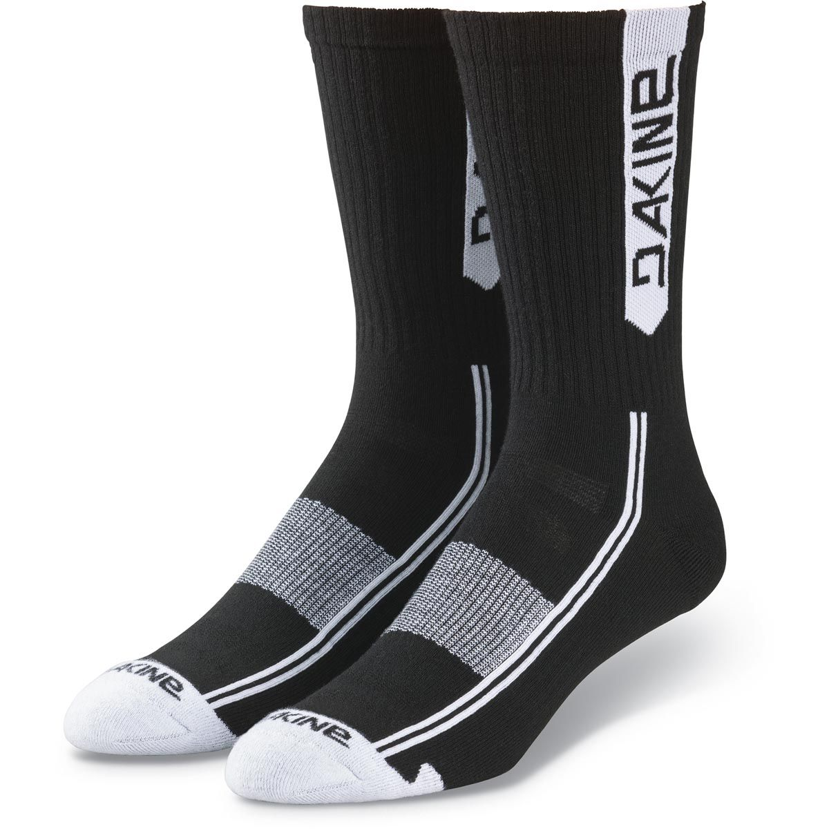 Dakine Step Up Sock Herren Bike Socken Black / White