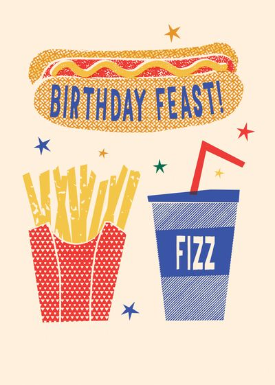 Advocate Art London Marbella New York Birthday Illustration Happy Birthday Cards Greeting Card Design