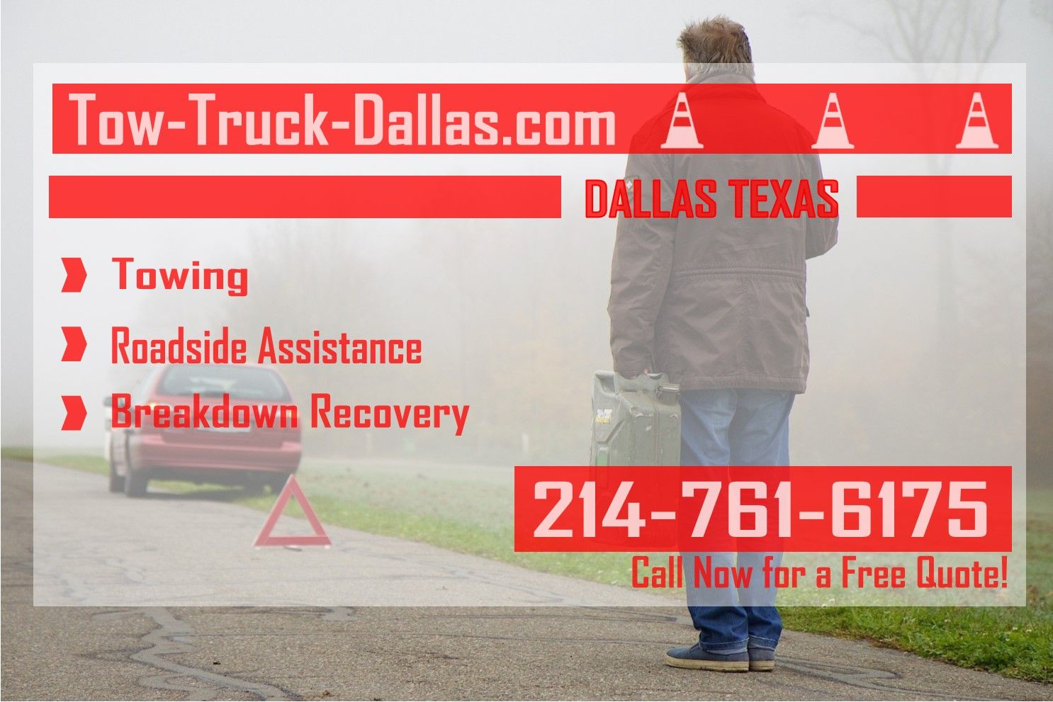 Tow Truck Dallas is proud to announce the opening of our