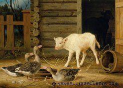 Kansallisgalleria - Taidekokoelmat - Wright, Ferdinand von