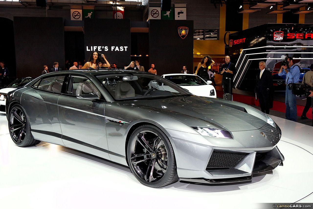 Lamborghini Estoque: What a great looking car! A four door Lambo to ...