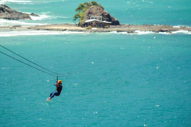 Ziplining At Sabang Beach By Sheridan Beach Resort And Spa