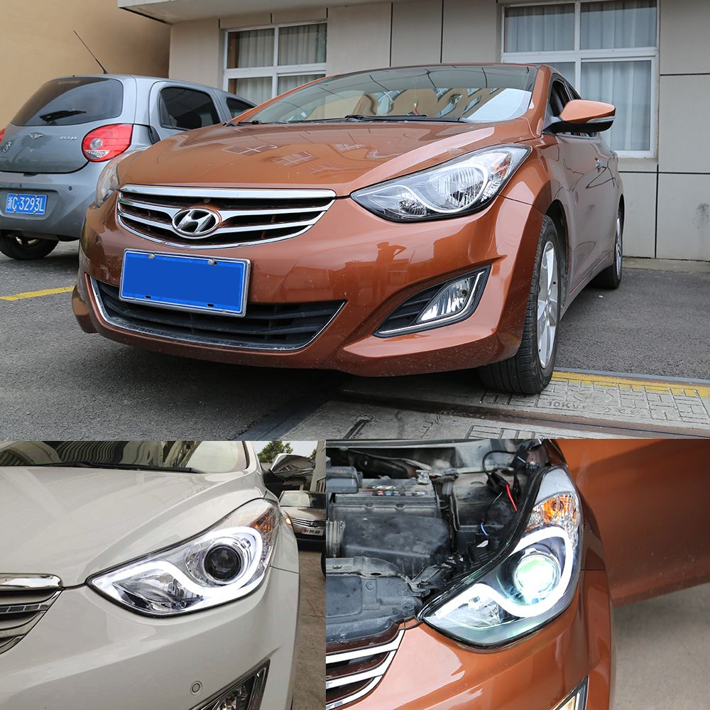 This Item Is Vland Ledtaillight Fnished Product Maps You Can See The Car Is Good Looking Welcome To Our Official Website Hyundai Elantra Led Headlamp Hyundai