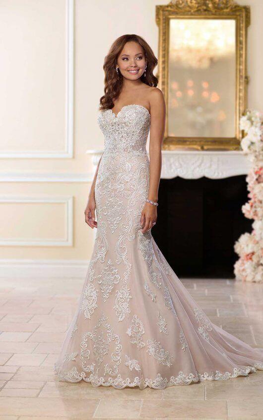Elegant Lace Wedding Dress | Stella york, Lace wedding dresses and ...