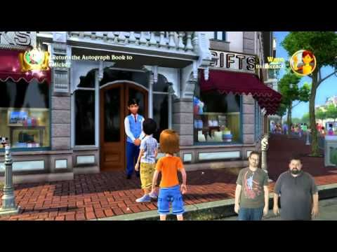 Kinect Disneyland Adventures - Gameplay and Kinect