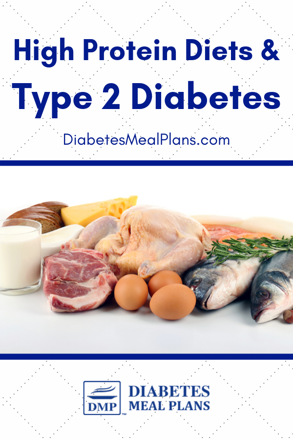type 2 diabetes and high protein diet