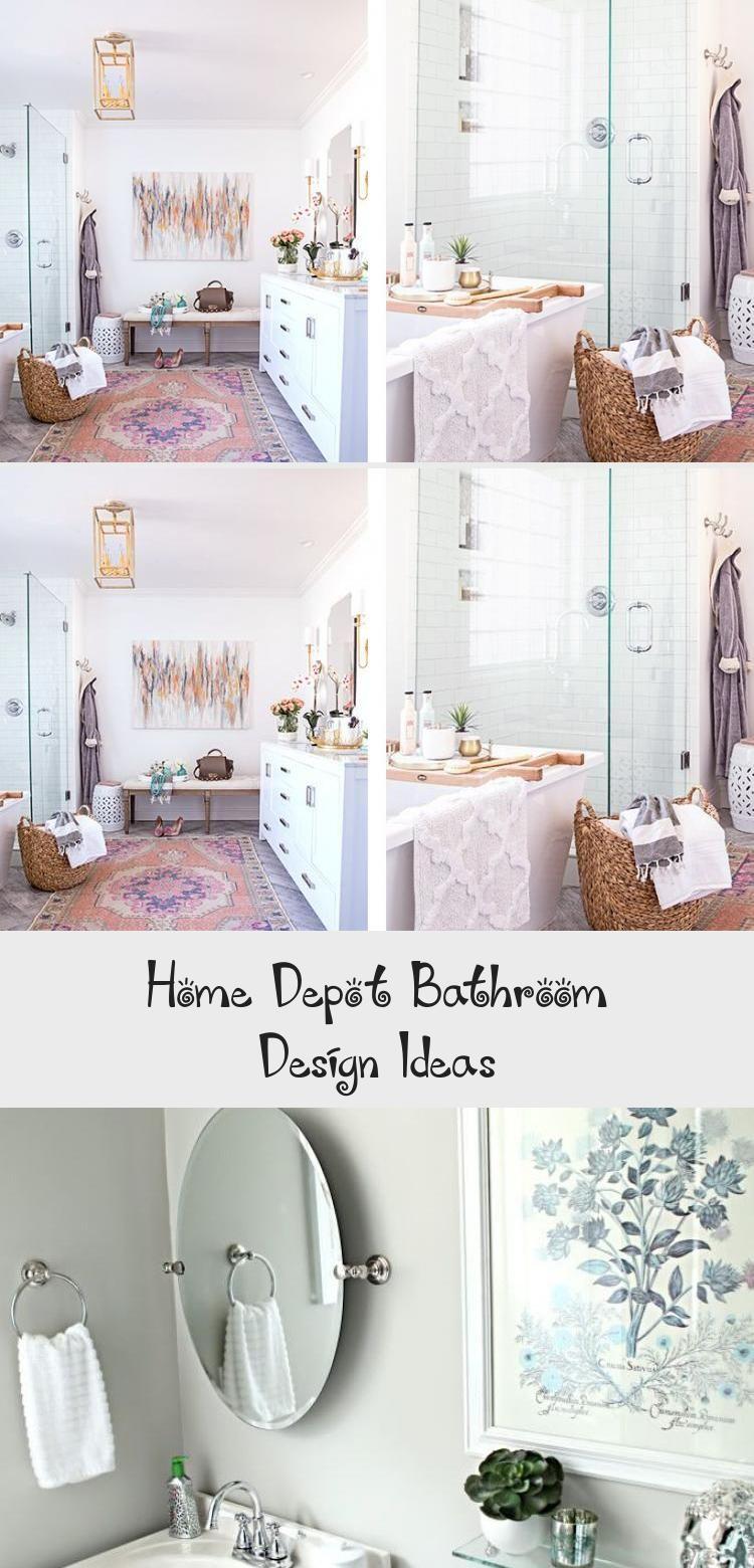 Home Depot Bathroom Design Ideas Bathroom In 2020 Home Depot Bathroom Bathroom Design Boho Bathroom