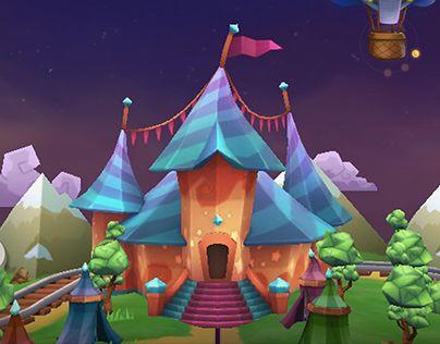 """다음 @Behance 프로젝트 확인: """"FLINGIMALS ios Game"""" https://www.behance.net/gallery/24600447/FLINGIMALS-ios-Game"""