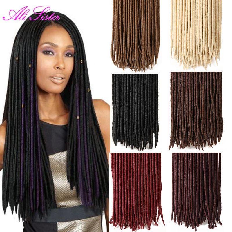 Find More Bulk Hair Information About 18 Faux Locs Crochet Hair