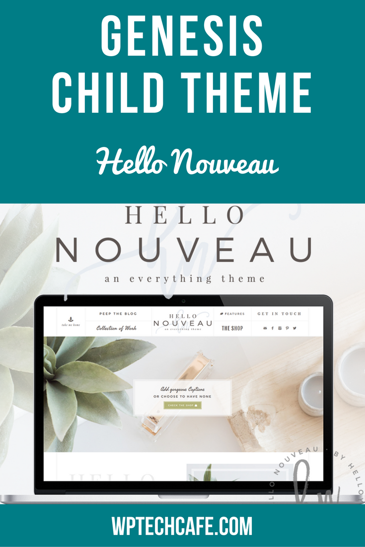 Hello Nouveau from Hello You Designs is a minimalist style