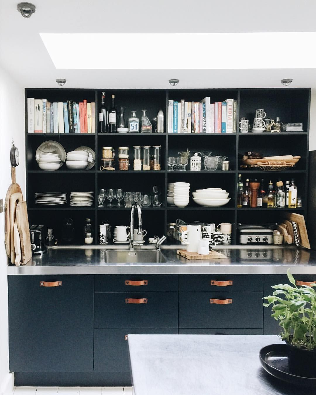 hurray for friday here are my shelves all tidy and on kitchen shelves instead of cabinets id=11380