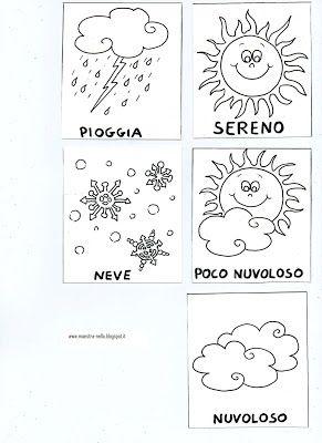 maestra Nella: Il calendario | Disegni Da Colorare | Pinterest | Wetter