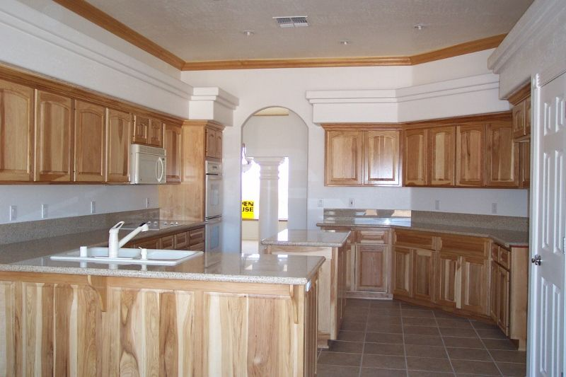 Nice Knotty Pine Kitchen Cabinets Granite Counter Tops In This Upscale Kingman Az Home Knotty Pine Kitchen Kitchen Cabinets And Granite Kitchen Remodel