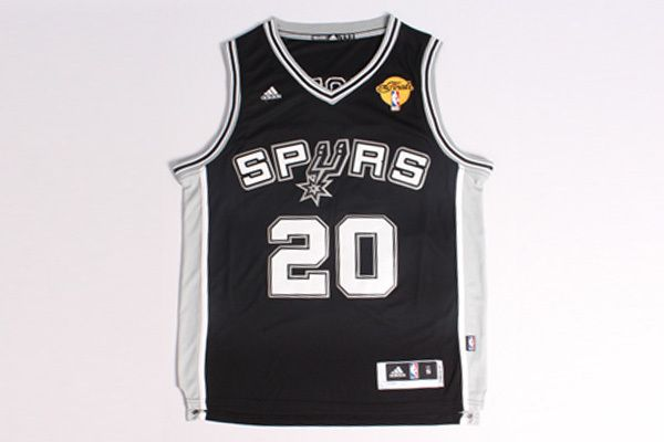 c5e9137027fa Ginobili spurs the finals 20 Black jersey