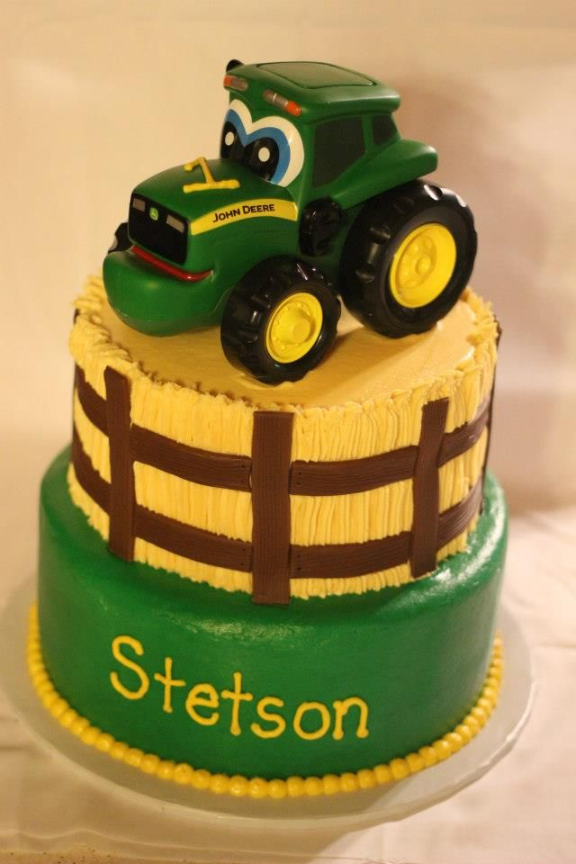 Johnny Tractor Cake