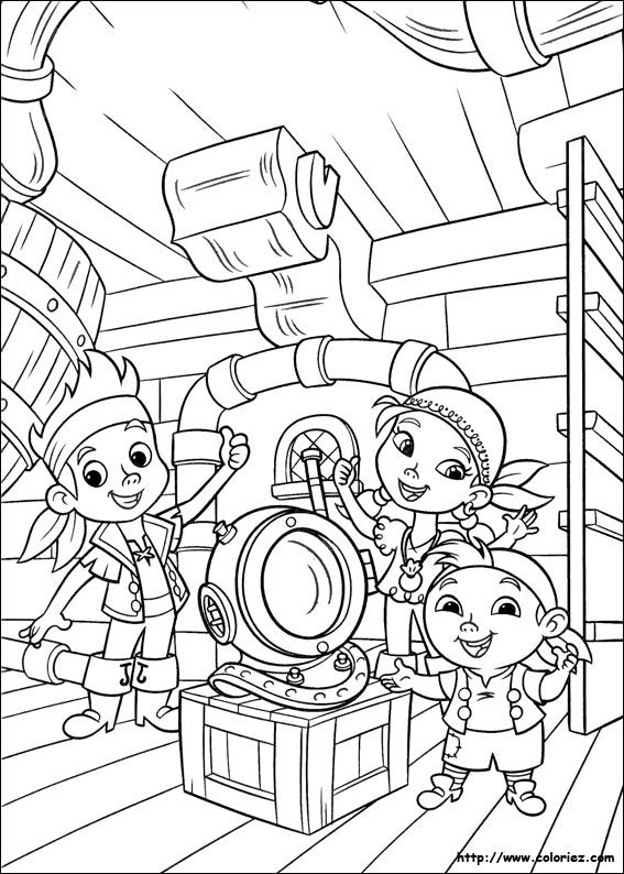 Coloriage jake et les pirates du pays imaginaire coloring pages jake and the never land pirates coloring picture altavistaventures Image collections