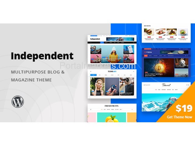 Independent Multipurpose Blog Magazine Wordpress Theme Life