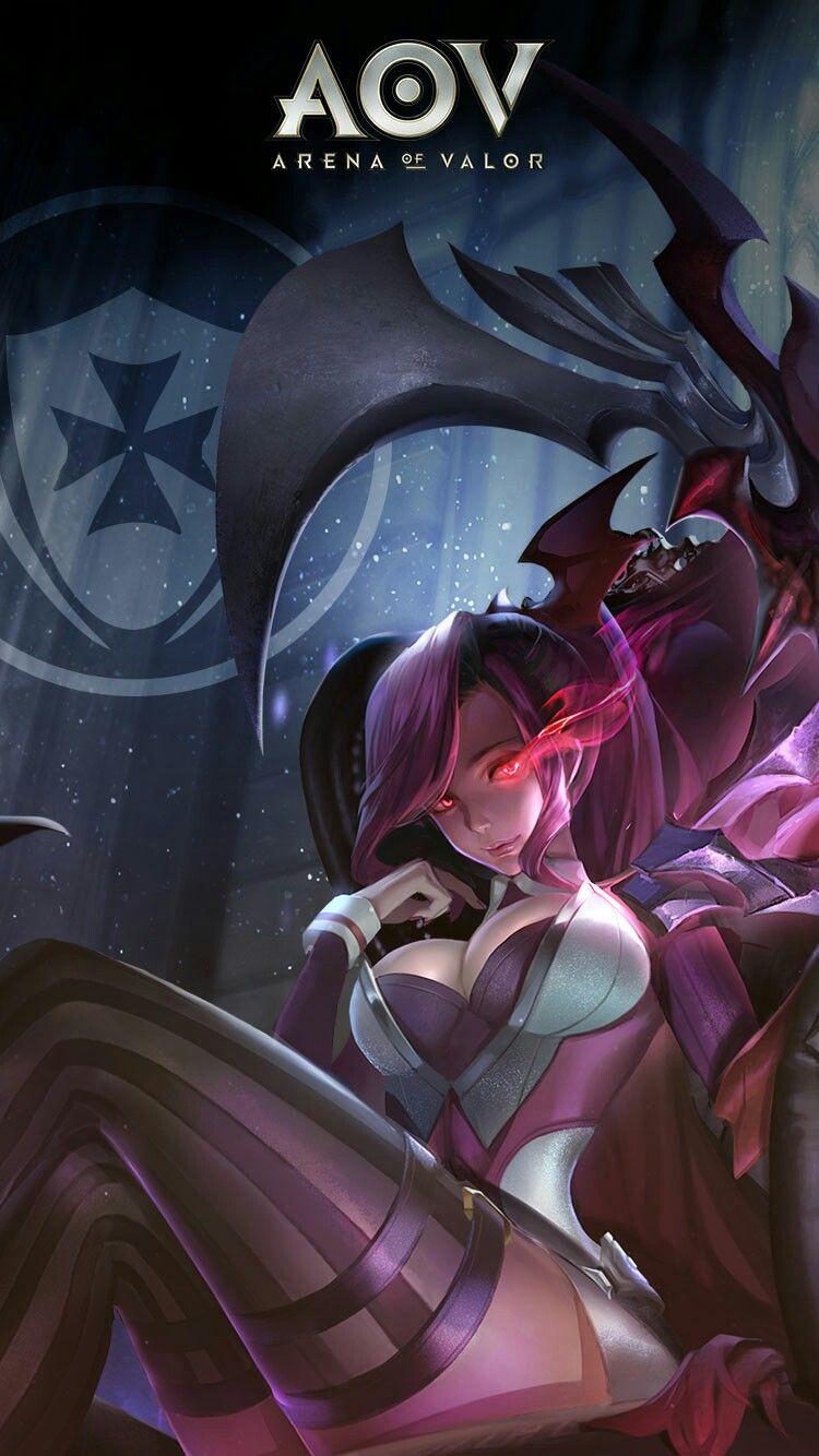 Mina Splendid Mobile Legends Game Concept Art Fantasy Characters Anime Characters Wallpaper