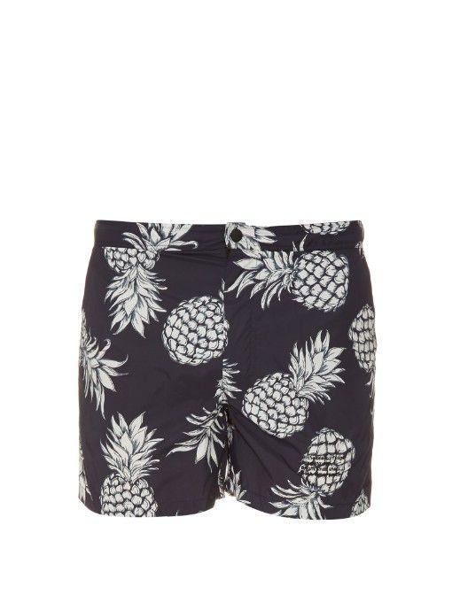 606f974d567b4 VALENTINO Pineapple-Print Swim Shorts. #valentino #cloth #shorts ...