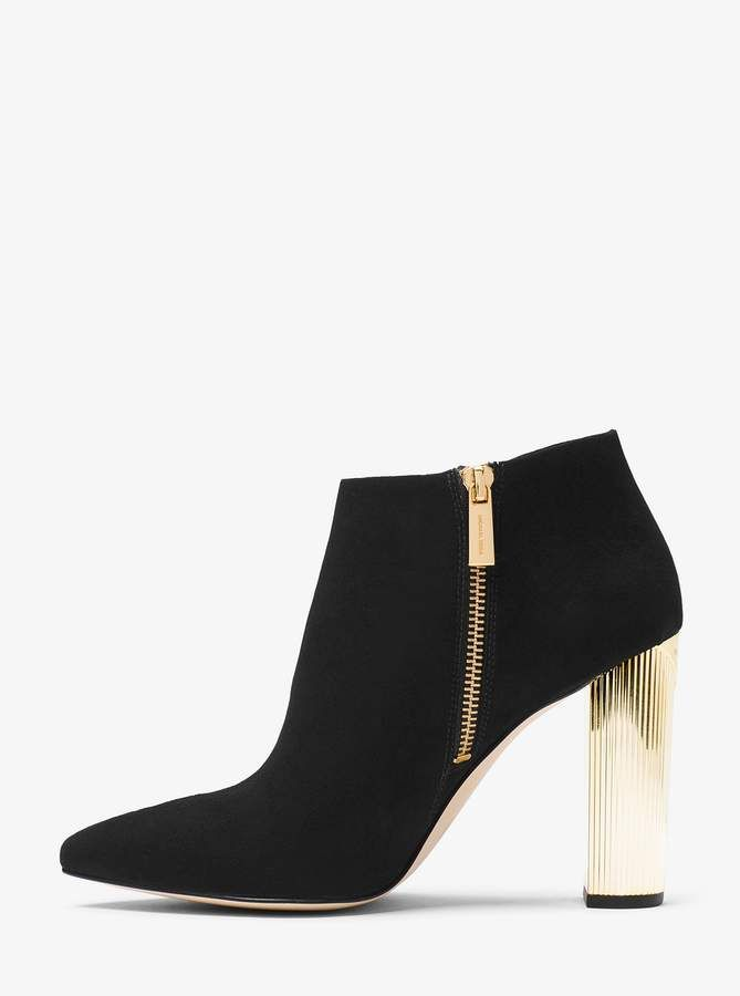 067f366db42 MICHAEL Michael Kors Paloma Suede Bootie   Products   Ugg boots ...