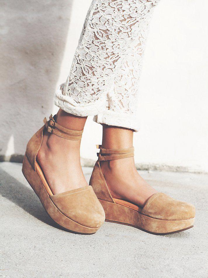 Free People Daphne II Platform, $138.00 | Me too shoes