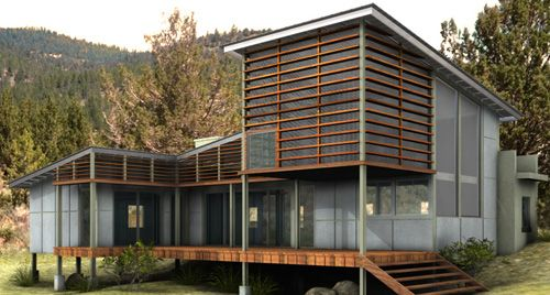Eco Architectural House Plans Eco House Eco Friendly House Architectural House Plans
